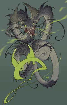 ArtStation - Serpent, NI O