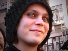 Ville Valo :) love this phase love the beanie!
