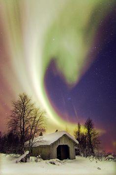 Aurora over Inari, Finland