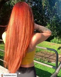 Little Mermaid Hair by - Cabello Rubio Red Hair Video, Long Hair Video, Dyed Hair Blue, Dyed Blonde Hair, Little Mermaid Hair, Fairytale Hair, Wine Hair, Hair Color Formulas, Candy Hair