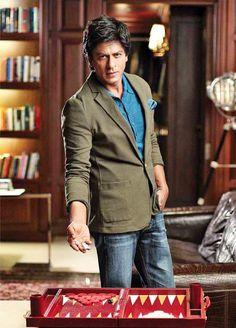 Shah Rukh Khan #Style #Bollywood #Fashion #Handsome
