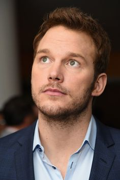 "Chris Pratt attends The Cinema Society with Men's Fitness and FIJI Water special screening of Marvel's ""Guardians of the Galaxy"" at Crosby Street Hotel on July 29, 2014 in New York City."
