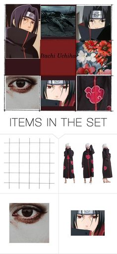 """""""Those who forgive themselves, and are able to accept their true nature...THEY ARE THE STRONG ONES- Itachi Uchiha (Naruto)"""" by izzylaceyr on Polyvore featuring art"""