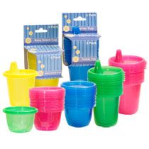 Bulk Toddler Snack and Trainer Cups, 5-ct. Packs at DollarTree.com (4... from Junior League of the Palm Beaches's registry on MyRegistry.com