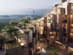Bjarke Ingels Group's plans for 79 & Park in Stockholm.