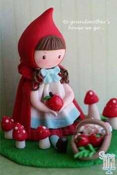 Little Red Riding Hood figurine