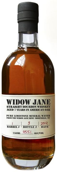 Widow Jane 7 Year Old Straight Bourbon Whiskey 750ml - ENGRAVED