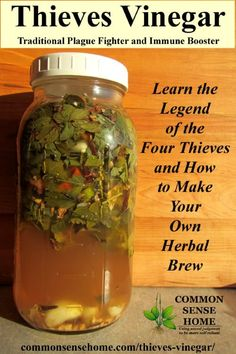 Thieves Vinegar - Immune Booster and Germ Killer