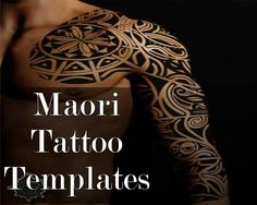Hier Sind Einige Design-Entscheidungen Für-Maori Tattoo Vorlagen und Designs