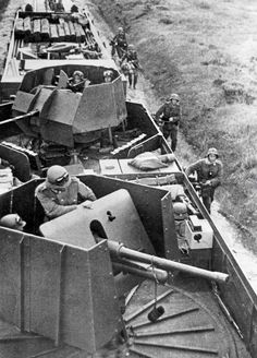 German armored train on the Eastern Front, 1941