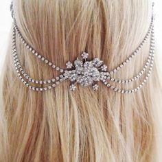 Wedding Chain for the Hair