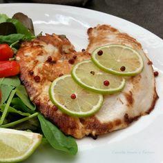 Petto di pollo con lime e pepe rosa ricetta