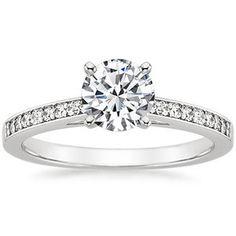 Platinum Starlight Diamond Ring