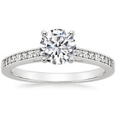 Platinum Starlight Diamond Ring (1/6 ct. tw.)
