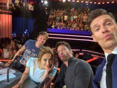All 4 returning for American Idol 14 American Idol Judges, Ryan Seacrest, Keith Urban, Superstar, Selfie, Concert, People, Duck Duck, Archive