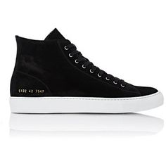 Common Projects Men's Tournament High-Top Sneakers