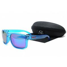 776f2acf89 Oakley Holbrook óculos de sol azul do quadro roxo lente Summer Sunglasses