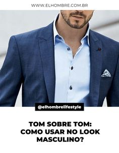 tom sobre tom, estilo, moda, moda masculina Suit Jacket, Suits, Jackets, Fashion, Moda Masculina, Men, Style, Down Jackets, Moda