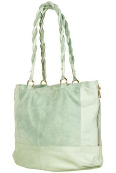Twist Handle Leather Tote - Topshop Price: £58.00