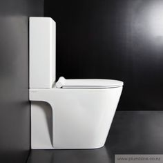 Zero 62 Back To Wall Toilet Suite With Slim Seat - Zero - Toilets & Bidets - Bathroom Toilet Suites, Back To Wall Toilets, Contemporary Design, Slim, Cleaning, Bathrooms, Nice, Products, Bathroom