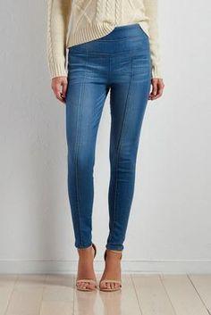 Versona pull-on skinny jeans #Versona