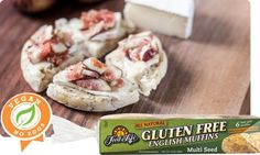 Sprouted Whole Grain Multi Seed English Muffins Vegan Recipes For One, Vegan Lunch Recipes, Gluten Free Recipes, Healthy Recipes, Healthy Eats, Yummy Recipes, Gluten Free English Muffins, English Muffin Recipes, Low Food Map Diet