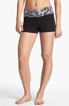 For J P. Undercover Foldover Lounge Shorts (Juniors) available at #Nordstrom