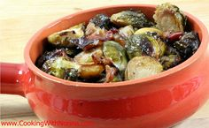 Roasted Brussels Sprouts with Red Onion and Prosciutto - See more at: http://www.cookingwithnonna.com/italian-cuisine/roasted-brussels-sprouts-with-red-onion.html#sthash.6PeyFCij.dpuf