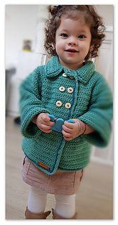 Crochet Baby Cardigan, Crochet Jacket, Crochet Shawl, Crochet For Boys, Free Crochet, Ravelry Crochet, Irish Crochet, Vestidos Bebe Crochet, Baby Patterns