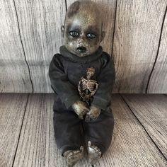 Mourning Spooky Doll Baby Creepy Haunted OOAK Reborn Horror Scary Dead  | eBay