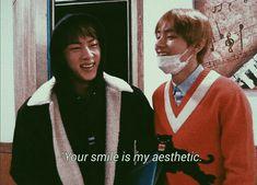 Bts SeokJin TaeHyung phrases