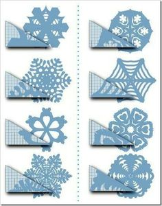 How to Make Paper Snowflakes Into a Window Curtain Step-by-step-photo tutorial showing how to make and hang a paper snowflakes window treatment for your holiday decor Diy Christmas Snowflakes, How To Make Snowflakes, Christmas Origami, Christmas Paper, Making Paper Snowflakes, Paper Crafts For Kids, Diy Home Crafts, Diy Paper, Paper Crafting
