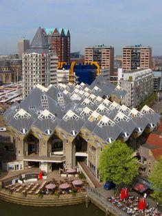 Cubic Houses in Rotterdam Blaak