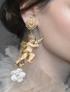 """A is for Angel Ana Rosa """" Dolce&Gabbana Fall 2012 Details """""""