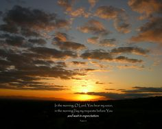 Psalm 5:3. [Desktop wallpaper 1250x1000]