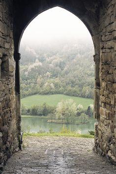 Mountain Portal, The Dolomites, Italy