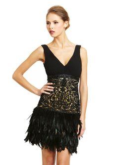 ideeli | sue wong sale 2  Erica's Autumnal Ball Black Swan Gown