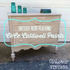 Who is Cece Caldwell and what is natural chalk & clay paint? I had the pleasure of working with these fantastic paints and I can tell you, it's quite amazing! W…