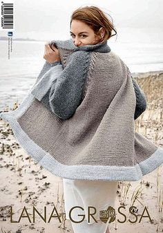 Crochet Patterns Pullover Knitting instructions: You can knit this cardigan yourself Crochet Pullover Pattern, Cardigan Pattern, Crochet Cardigan, Knit Crochet, Wool Cardigan, Knitted Coat, Knit Jacket, Sweater Jacket, Pulls