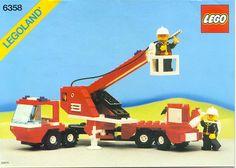 Lego Town: 6358 Snorkel Squad (1987)