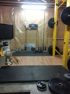 I made a Squat Rack/Power Rack and lifting platform for under $200! Frugal fitness at its finest. - Imgur
