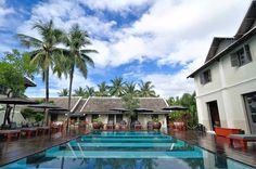 Hotel Luang Prabang with swimming pool - Villa Maly