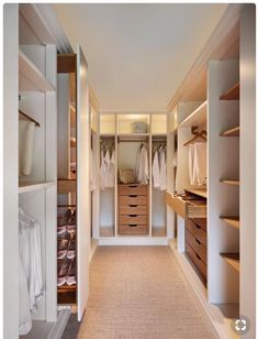 Explore the best of luxury closet design in a selection curated by Boca do Lobo to inspire interior designers looking to finish their projects. Discover unique walk-in closet setups by the best furniture makers out there Walk In Closet Design, Bedroom Closet Design, Master Bedroom Closet, Closet Designs, Home Bedroom, Bedroom Ideas, Walk In Closet Size, Master Suite, Walk Through Closet