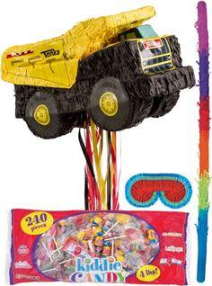 Pull String Tonka Truck Pinata Kit - Party City $30
