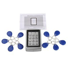 Proximity RFID Card Door Lock Entry Access Control System with 10 Card