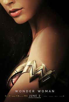 Final Wonder Woman movie poster, the armband.