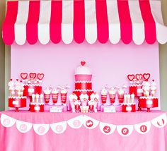 Vintage Sweet Shop Party theme