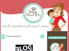 Cantinho do blog Layouts e Templates para Blogger: Trabalho entregue Blog Diário da Mami Feliz