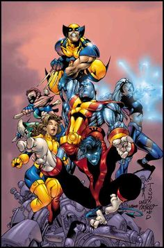 X-Men by Carlos Pacheco