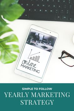 Master your marketing skills by creating a yearly marketing strategy to keep you organized and on task Digital Marketing Strategy, Marketing Plan, Business Marketing, Content Marketing, Affiliate Marketing, Business Tips, Online Marketing, Marketing Techniques, Real Estate Business